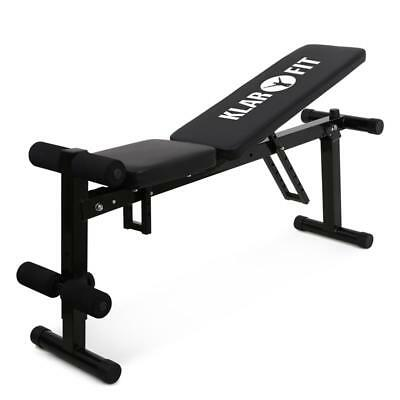 Folding Weight Training Bench Sit Up Crunch Fitness Home Gym Exercise Equipment