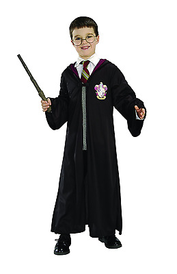 Rubie's Official Harry Potter Pack Gryffindor Robe, Wand and Glasses Child's Cos