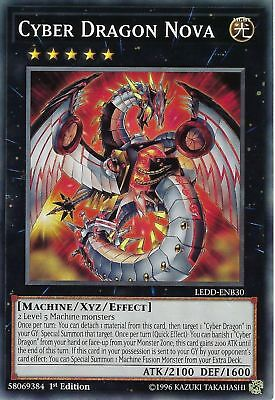 ( CYBER DRAGON NOVA ) - Common - LEDD-ENB30 - 1st - NM - Yu-Gi-Oh