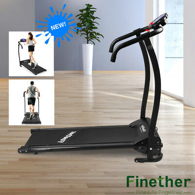 Treadmill Folding Running Jogging Walking Machine Electric Motorized Gym Fitness