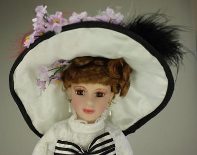 Homeart Bisque Porcelain Eliza Doolittle from My Fair Lady Stand SKU5373 SA118
