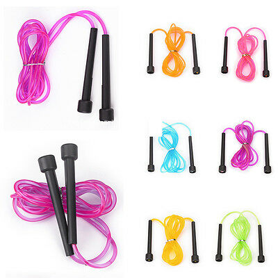 2.6M Wire Speed Skipping Jump Rope Adjustable Fitnesss Exercise Equipment