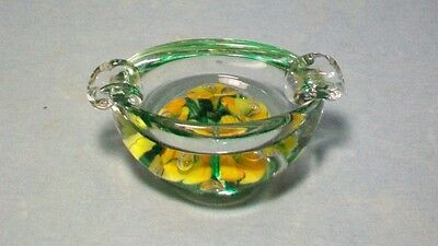 Yellow Flower Joe St. Clair Ashtray