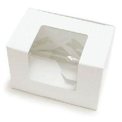 CK Products 14x10cm Easter Egg White Window Box, Strong & Simple