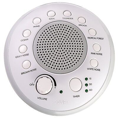SONEic - Sleep Relax and Focus Sound Machine. 10 Soothing White Noise and Nat...