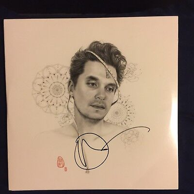 Autographed John Mayer The Search For Everything Signed Vinyl!