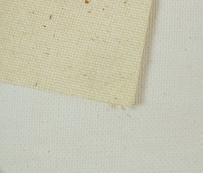 Picasso Medium Grain Natural Cotton Canvas 7 Oz 5 Mtr Roll- Width Available