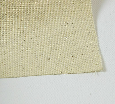 Picasso Medium Grain 10 Oz Natural Cotton Canvas 5 Mtr Roll-Width Available