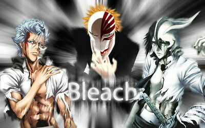 "164 Bleach - Dead Rukia Ichigo Fight Japan Anime 22""x14"" Poster"
