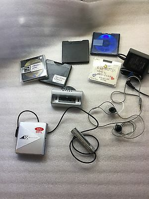 Sharp MD-DS5-S with Remote, stand, charger - Md Walkman Mini Disc Player