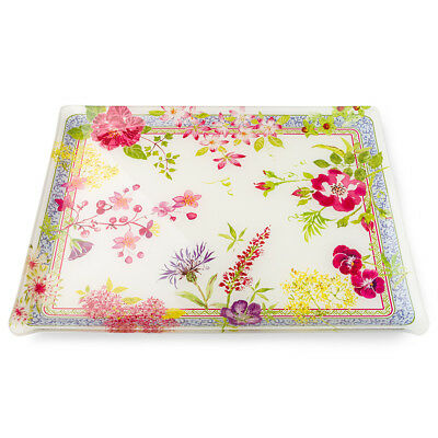 NEW Gien Millefleurs Large Acrylic Serving Tray