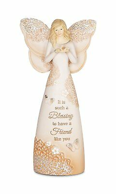 Pavilion Gift Company 19072 Friend Angel Figurine, 7-1/2-Inch
