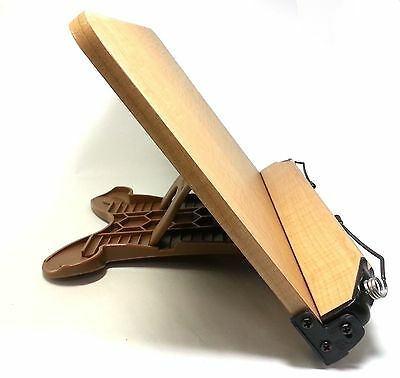 Book Reading Stand Wooden Desk Bookstand Holder Adjustable Portable Read Bible