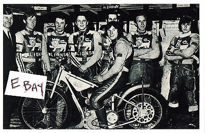 Speedway Team Photo. Leicester 1970