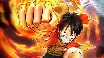 """361 One Piece - ACE OP Monkey D Luffy Fighting Japan Anime 42""""x24"""" Poster"""