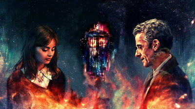"""262 Doctor Who - BBC Space Travel Season 8 Hot TV Show 42""""x24"""" Poster"""