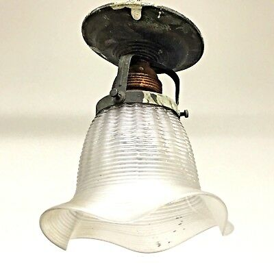 LA2/115 * Beautiful Art Nouveau Lamp Flush Mount Light Fixture Antique German