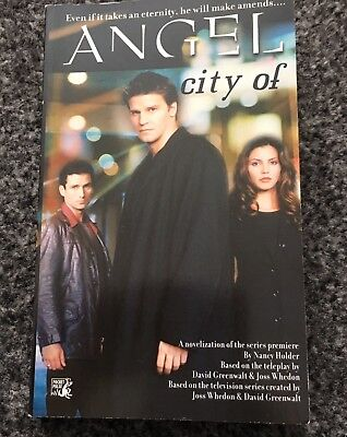 ANGEL City Of Paperback Book (Angel The Series Buffy The Vampire Slayer)