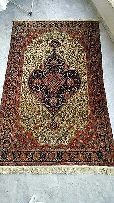 antique late 19th century persian farahan sarouk rug
