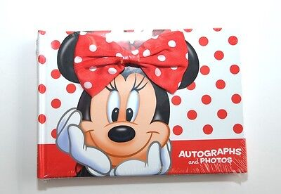 Disney Minnie Mouse Autograph book and Pictures