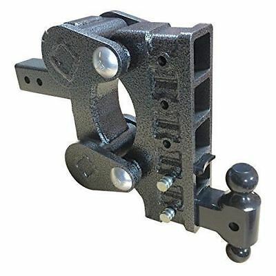 """Spring Ride Adjustable Drop Hitch, AirLess Rubber Cushion Hitch Gh 1325 2.5"""" ..."""