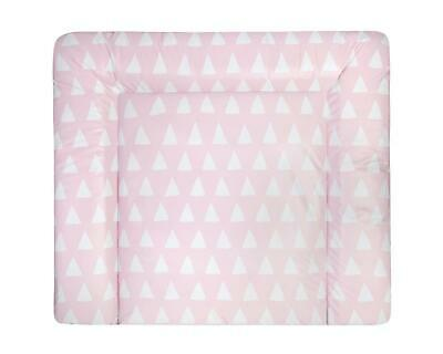 Julius Zöllner Wickelauflage Softy Folie Triangel pink 27252 TxB 75x60cm
