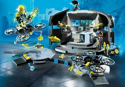 PLAYMOBIL 9250 - TOP AGENTS - Dr. Drone's Command Center