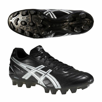 Asics Lethal RS Rugby Boots Moulded for hard ground Studs Black Snr Sizes 6-12