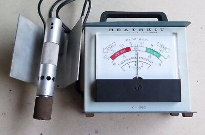 Heathkit Exhaust Gas Analyzer Emissions Tester Ci-1080 + Full Manual