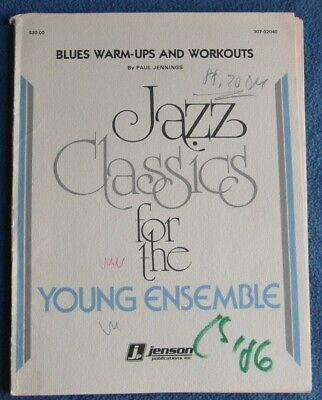 Jazz Classics for the Young Ensemble - Blues Warm-Ups And Workouts