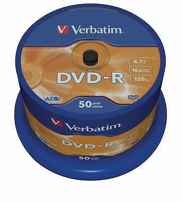 Verbatim DVD 4.7 GB 50 Pieces