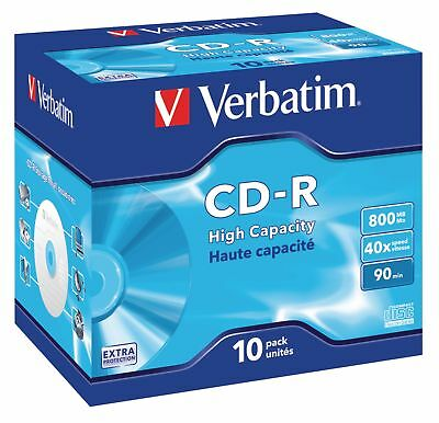 Verbatim CD 800 MB 10 Pieces