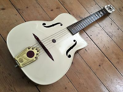 Maccaferri 50's Plastic Guitar Original Vintage Collectable with Box and Tag