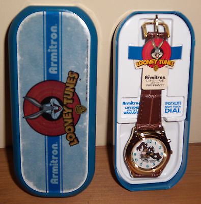 Character Wristwatch, Looney Tunes, Armitron with night vision dial