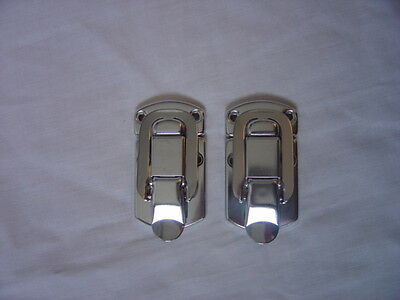 Case hardware new surface mount  latches (pair)