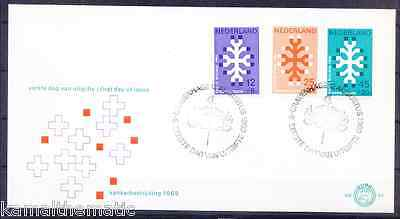 Netherlands 1969 FDC, Anti Cancer, Madicine, Disease