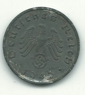 NAZI 10 cent  ww2 .The real coin,no fakes!!'''/