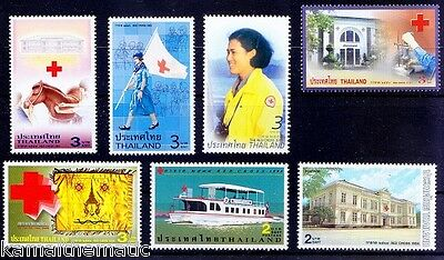 Thailand MNH 7 Stamps lot, Red Cross