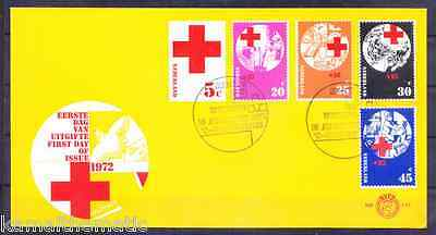 Postal History, Netherlands FDC, Red Cross, Medical, Scott