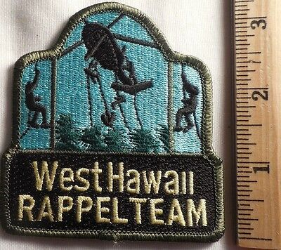 West Hawaii Rappel Team Patch (Highway Patrol, Sheriff, Ems, State)