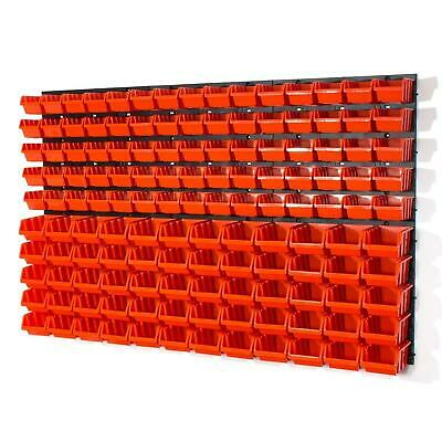 177pcs Tool board SET storage bins Wall Mounted Louvre 119 x 78cm