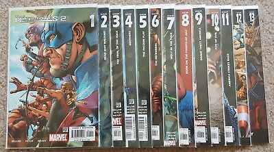 The Ultimates 2 # 1 2 3 4 5 6 7 8 9 10 11 12 13 Complete Set  Avengers Vf/nm