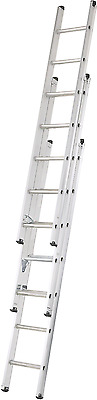 2.0m Compact Triple Extension Ladder - end of line clearance - opens to 4.7m