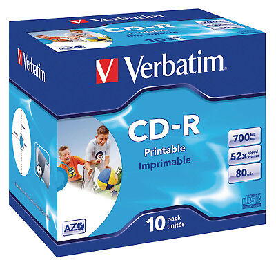 Verbatim CD 700 MB 10 Pieces