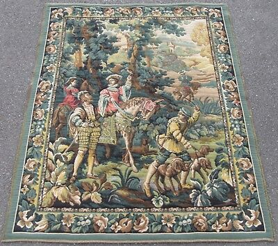 A 17Th Century Style Flemish Hunting Tapestry