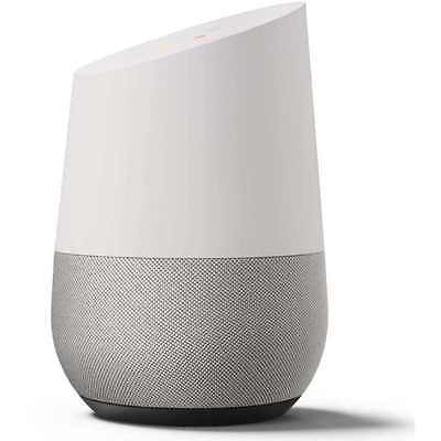 Brand New GOOGLE HOME - Voice Activated Speaker Google Assistant, White/Slate
