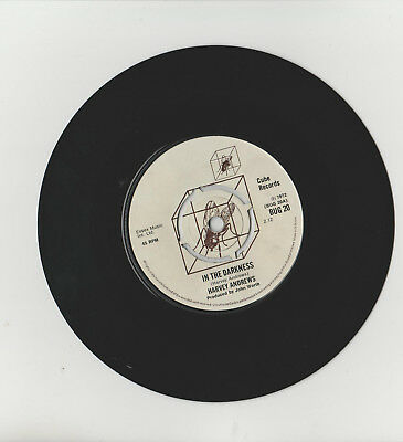 """Harvey Andrews * In The Darkness / Soldier * 7"""" Single Cube Bud 20 Plays Great"""