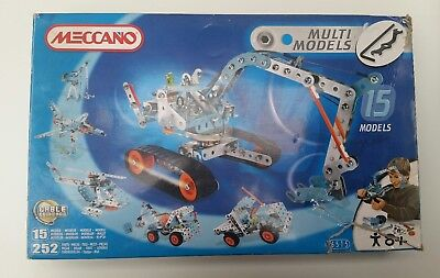 Meccano Multi Models 6515 Makes 15 Models cable command