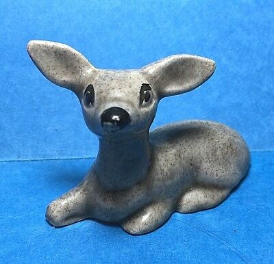 Vintage Small Ceramic Fawn/ Doe/Deer Figurine /Figure #65