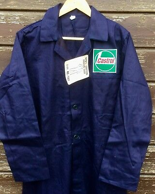 "REDUCED! Rare Revival Classic Forties' Navy Castrol Buttoned Overalls 40"" Chest"